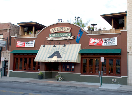 Avenue Ale House in Oak Park, Illinois