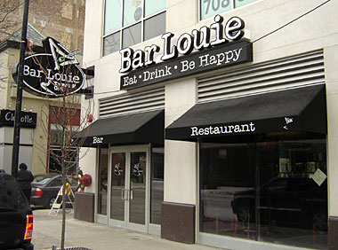 Bar Louie in Oak Park, Illinois