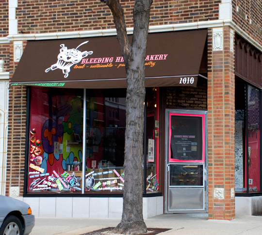 Bleeding Heart Bakery in Oak Park, Illinois