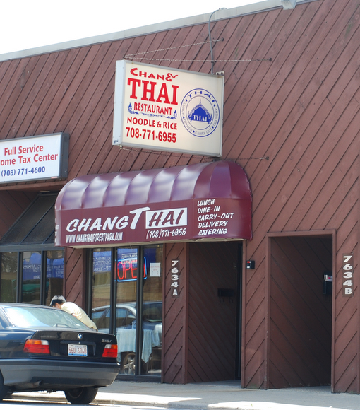 Changthai Restaurant in Forest Park, Illinois