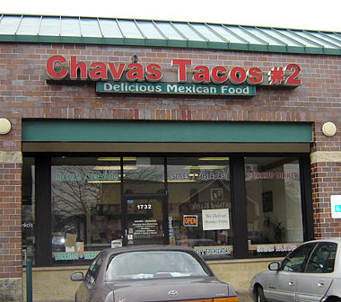 Chavas Tacos in Elmwood Park, Illinois