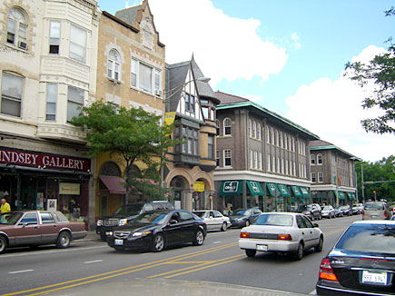 Oak Park, Illinois - downtown (Oak Park Avenue)