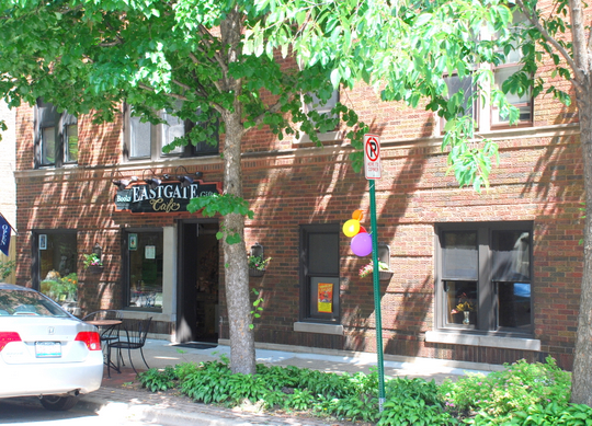 Eastgate Café in Oak Park, Illinois