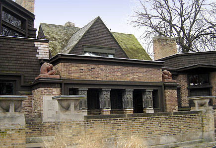 Frank Lloyd Wright Estate In Oak Park Illinois