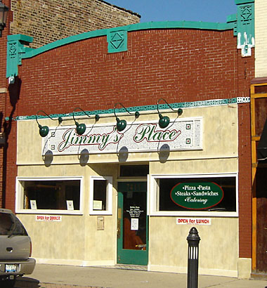Jimmy's Place in Forest Park, Illinois