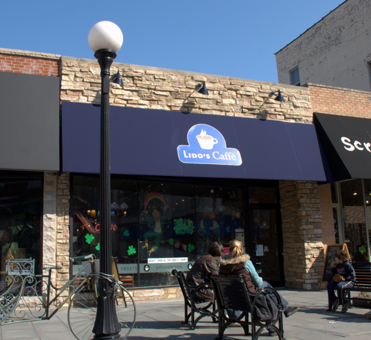 Lido's Caffe in Oak Park, Illinois