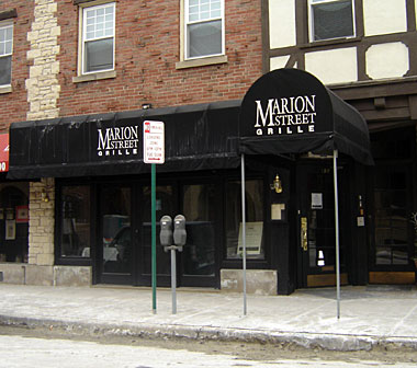 Marion Street Grille in Oak Park, Illinois