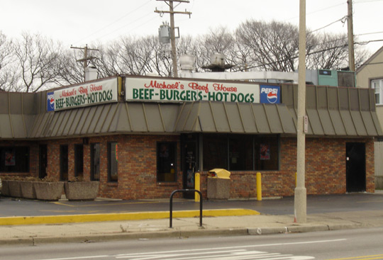 Michael's Beef House in Oak Park, Illinois