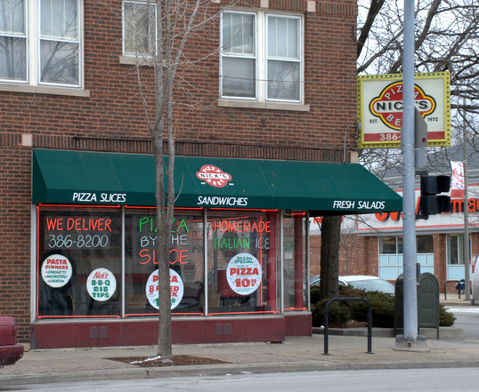Nick's Pizza & Beef On Madison in Oak Park, Illinois