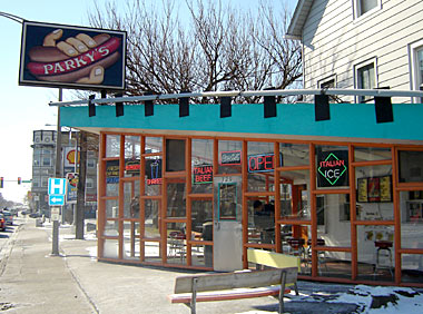 Parky's Hot Dogs in Forest Park, Illinois