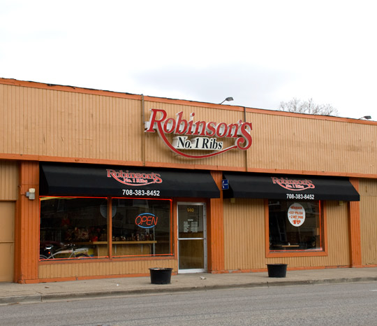 Robinson's Ribs in Oak Park, Illinois