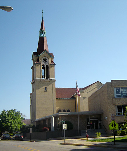St. John Lutheran on Circle Avenue in Forest Park, Illinois