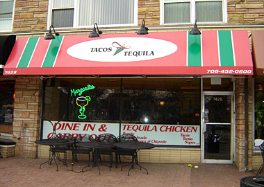 Tacos and Tequila in Elmwood Park, Illinois