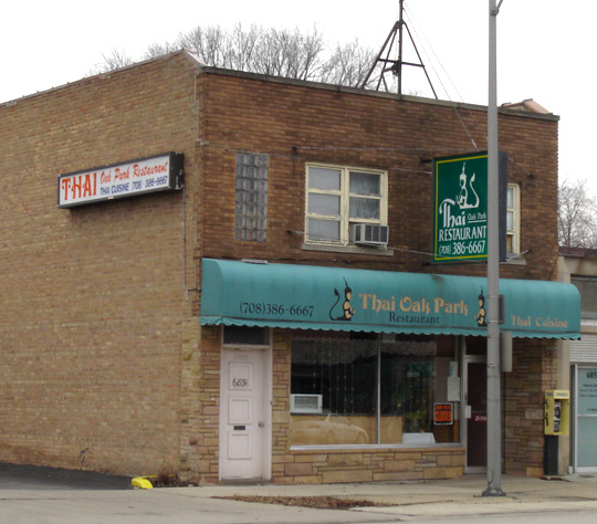Chinese Restaurants In Oak Park On North Avenue
