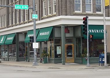 Café Winberie in Oak Park, Illinois