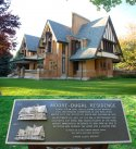 Moore-Dugal (Frank Lloyd Wright) home in Oak Park, IL